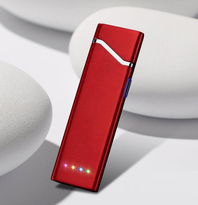 USB электро зажигалка сенсорная электрическая с отпечатком пальца Lighter 09