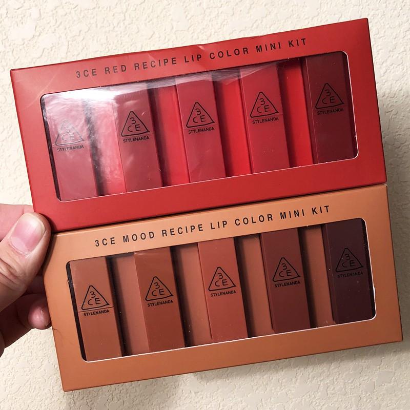 Набор помад  3CE Lip Color Mini Kit 05